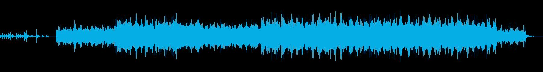 不思議で可愛い雰囲気のある楽曲の再生済みの波形