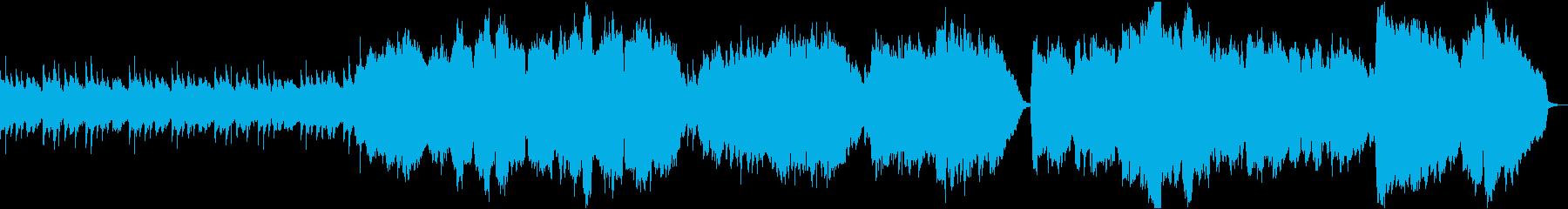 心に染み渡るチェロの楽曲の再生済みの波形