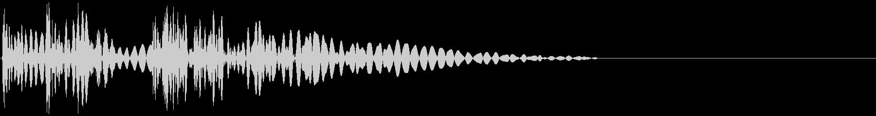 ピュピュンドン(攻撃・シューティング)の未再生の波形