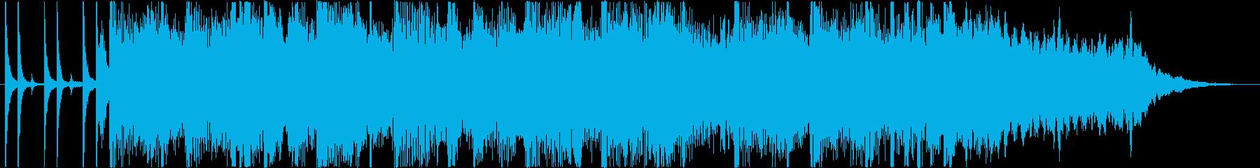 女性ボーカルのスキャットを含む、メ...の再生済みの波形