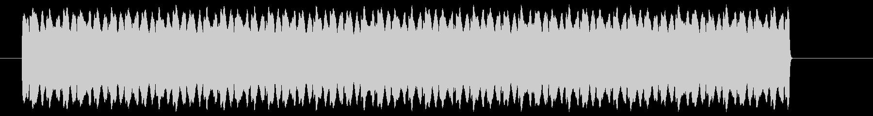 ピ――――!高音のレーザー光線の未再生の波形