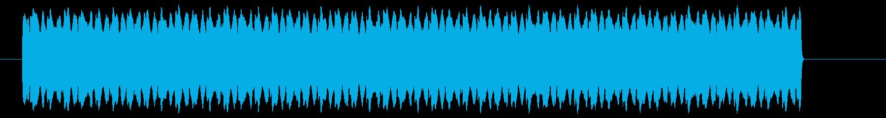 ピ――――!高音のレーザー光線の再生済みの波形