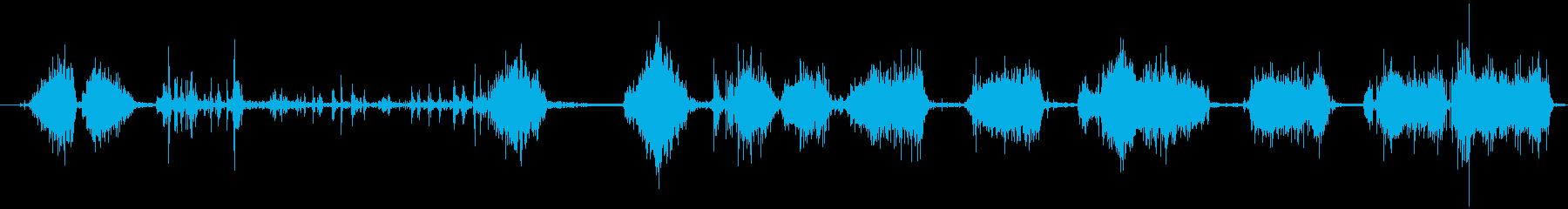 自動ウィンドウスクレーパー:ハード...の再生済みの波形