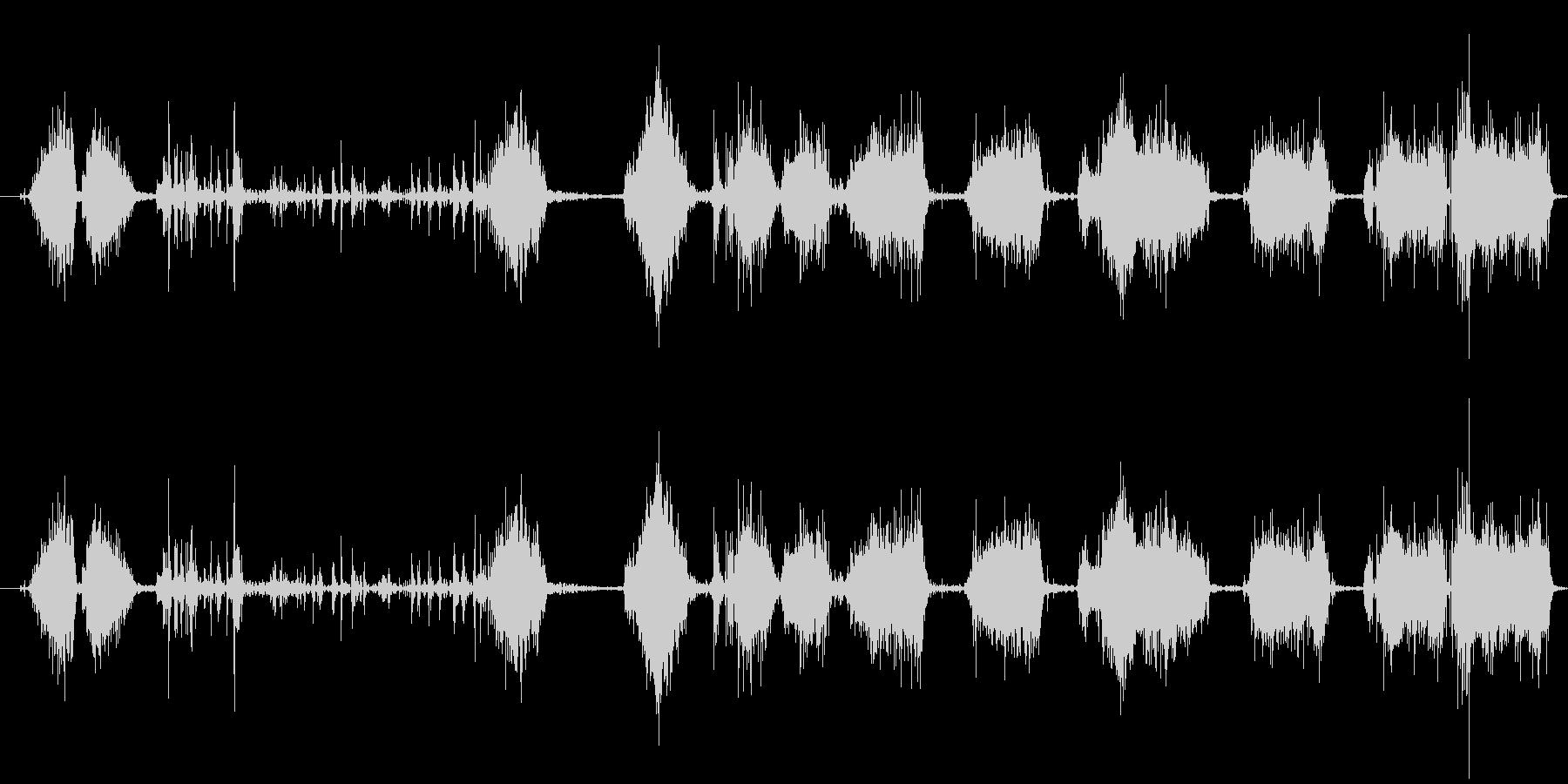 自動ウィンドウスクレーパー:ハード...の未再生の波形