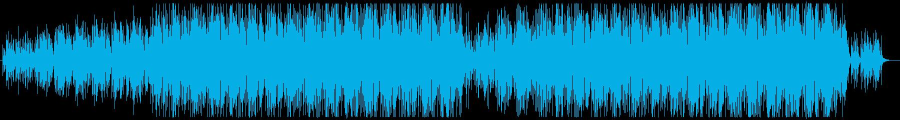 ミニマルなマリンバのアコースティックチルの再生済みの波形