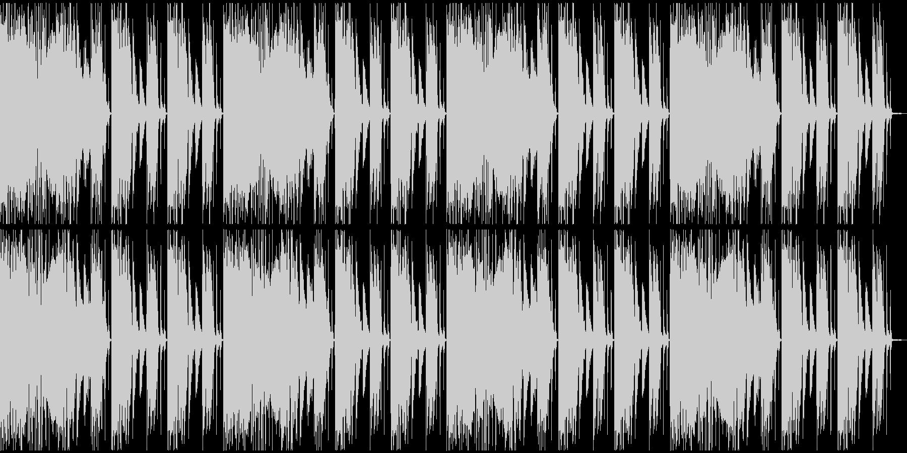 【エレクトロニカ】ロング4、ミディアム2の未再生の波形
