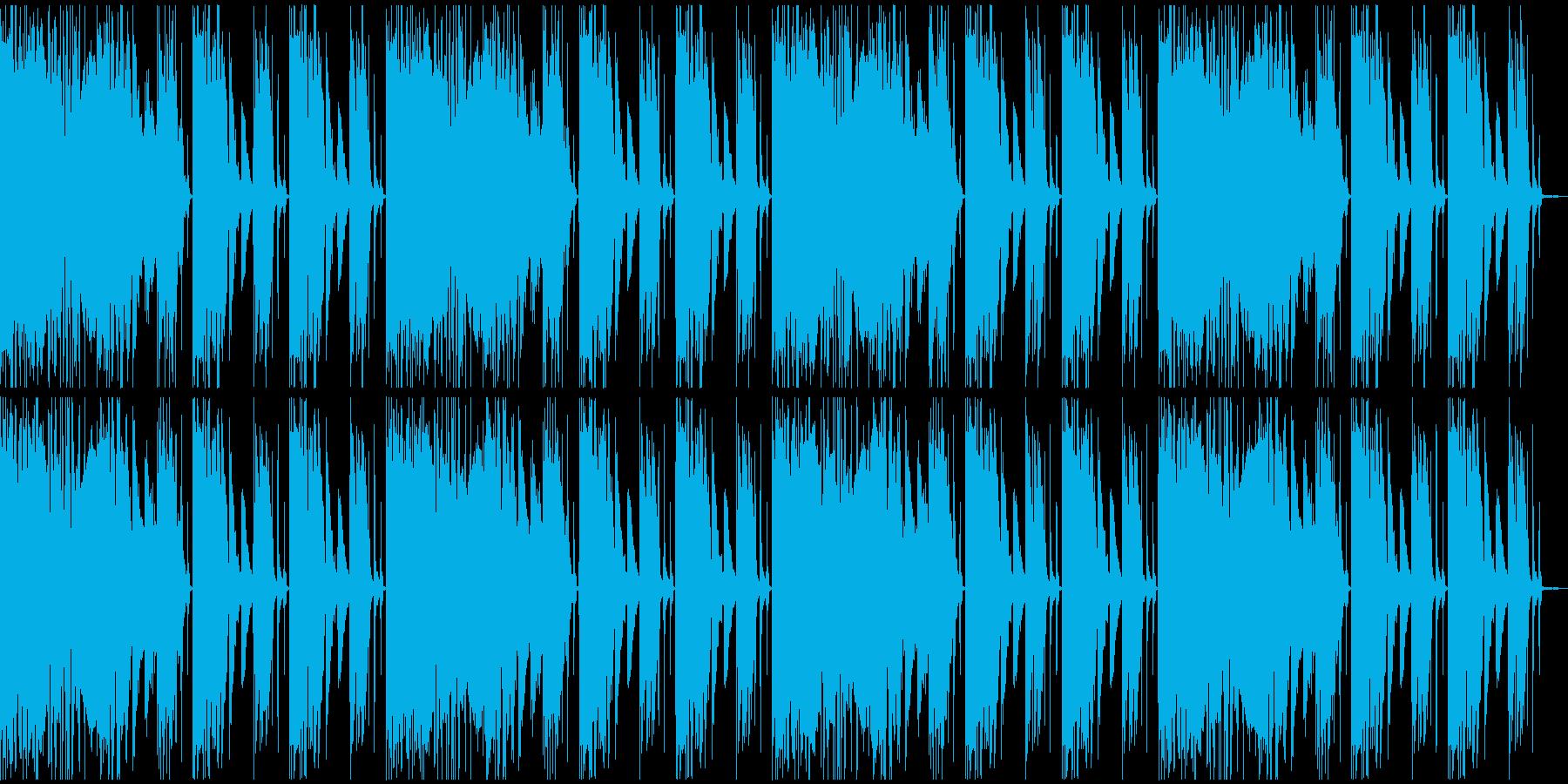 【エレクトロニカ】ロング4、ミディアム2の再生済みの波形