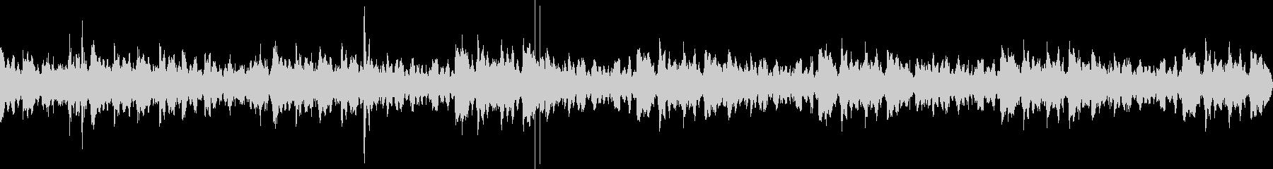 Lo-Fi HipHopのBGMの未再生の波形