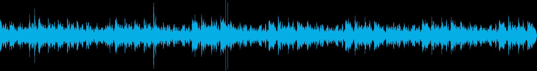 Lo-Fi HipHopのBGMの再生済みの波形