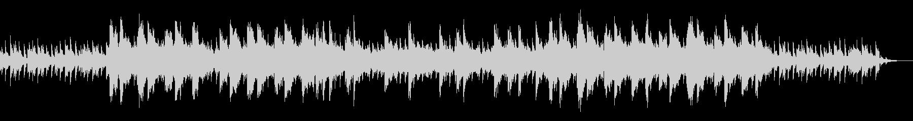 ビートなしBGMなどに明るくシンプルな曲の未再生の波形