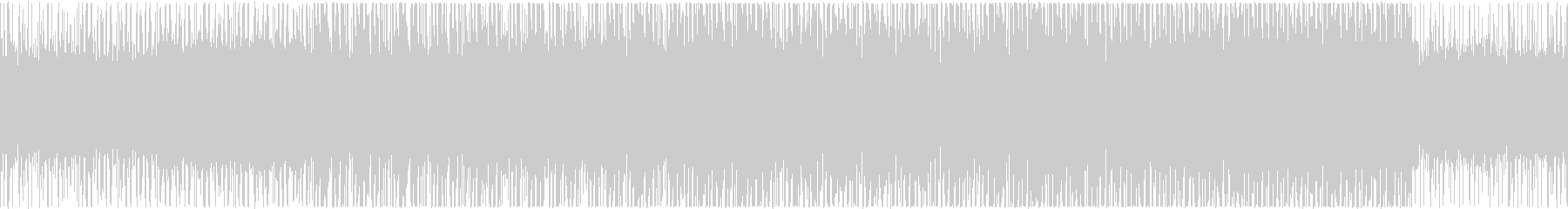 バトル系アラビアン風_BGMの未再生の波形