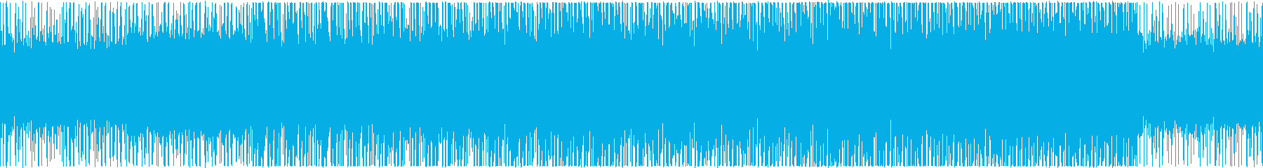 バトル系アラビアン風_BGMの再生済みの波形