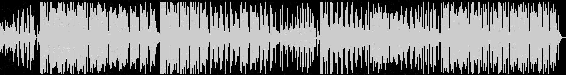 おしゃれjazzチルビートピアノアコギの未再生の波形