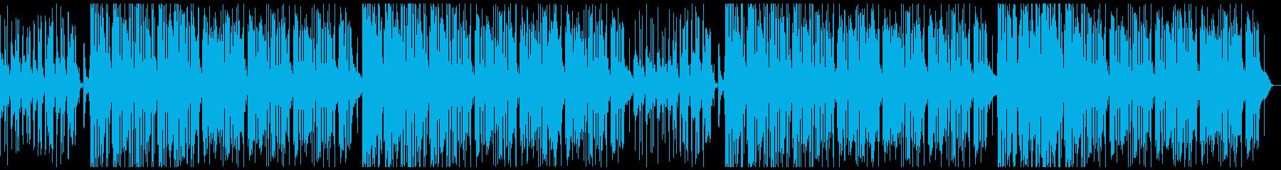 おしゃれjazzチルビートピアノアコギの再生済みの波形