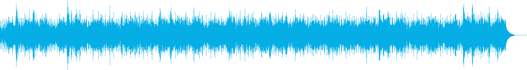 Melody with a pleasant sound's reproduced waveform