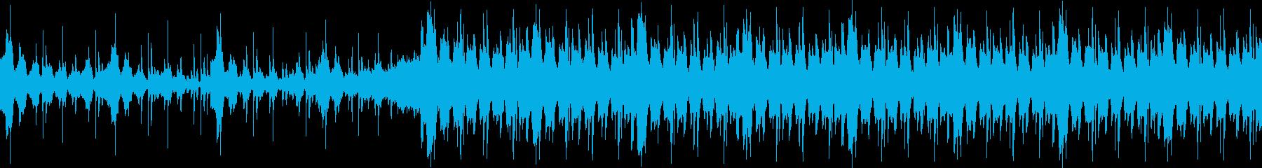 VP、CM、暖かい爽やかな透明感ループbの再生済みの波形