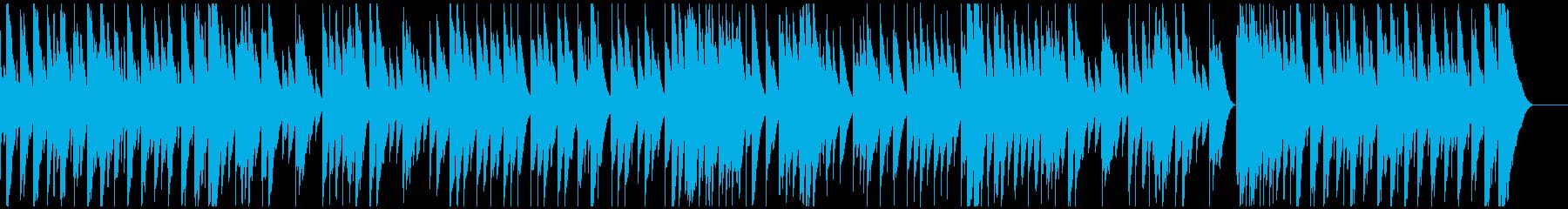 ファンタジックでメルヘンなオルゴールの再生済みの波形