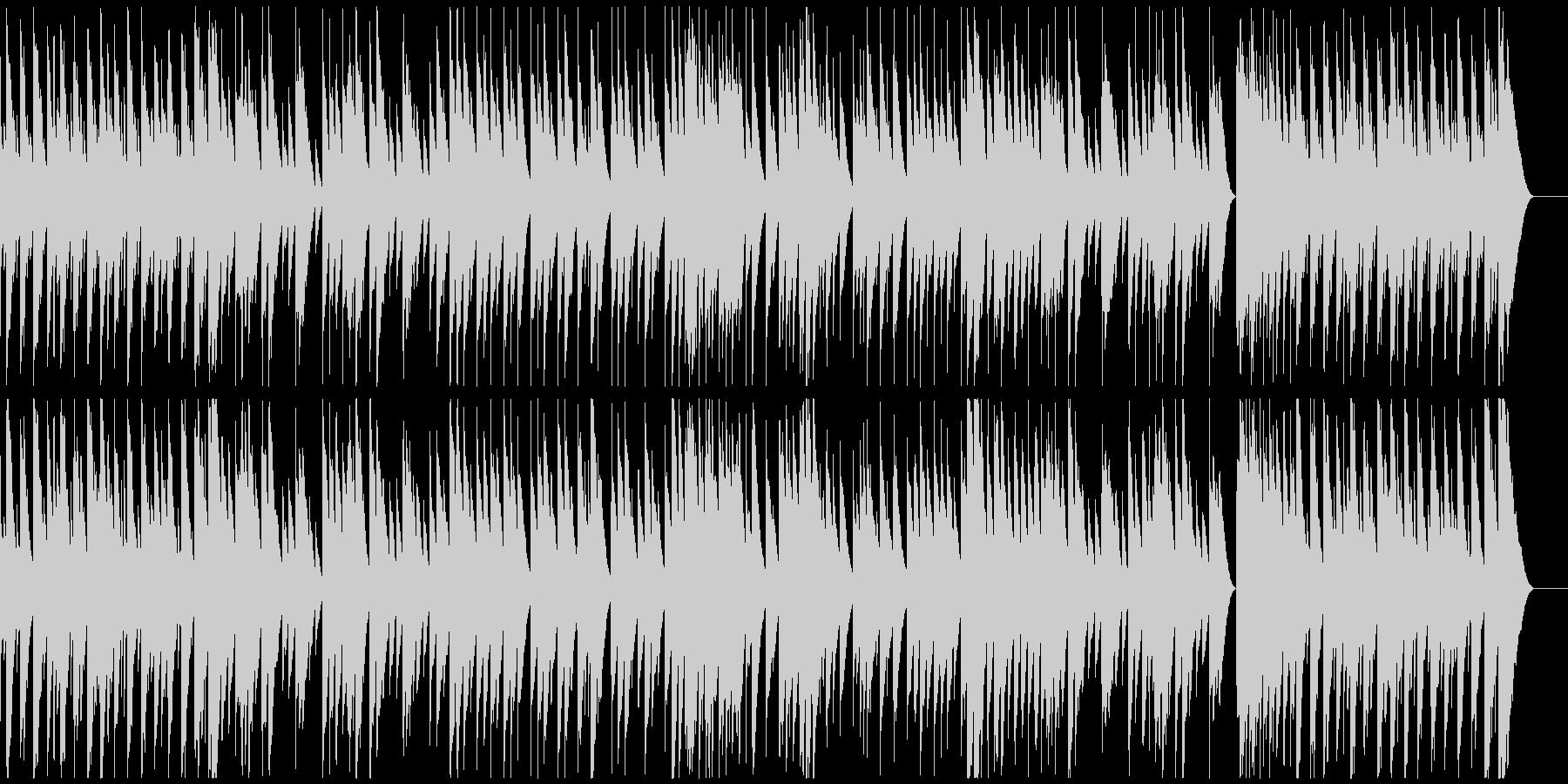 ファンタジックでメルヘンなオルゴールの未再生の波形
