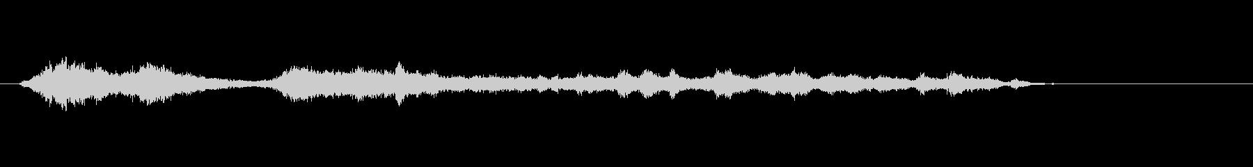 群集(50):ホイッスル/フープ、...の未再生の波形
