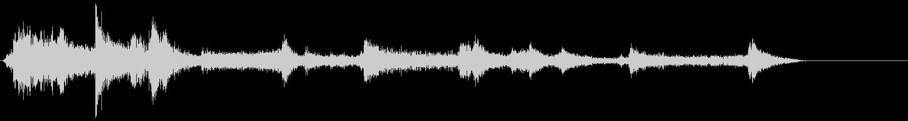 ハイテクドアコンプ1の未再生の波形