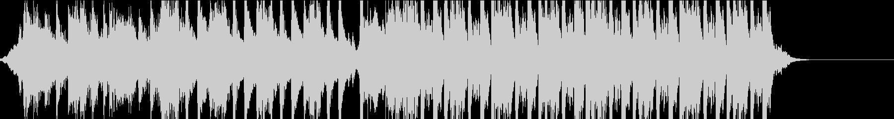 チェロとヴァイオリンによる壮大な重低音の未再生の波形