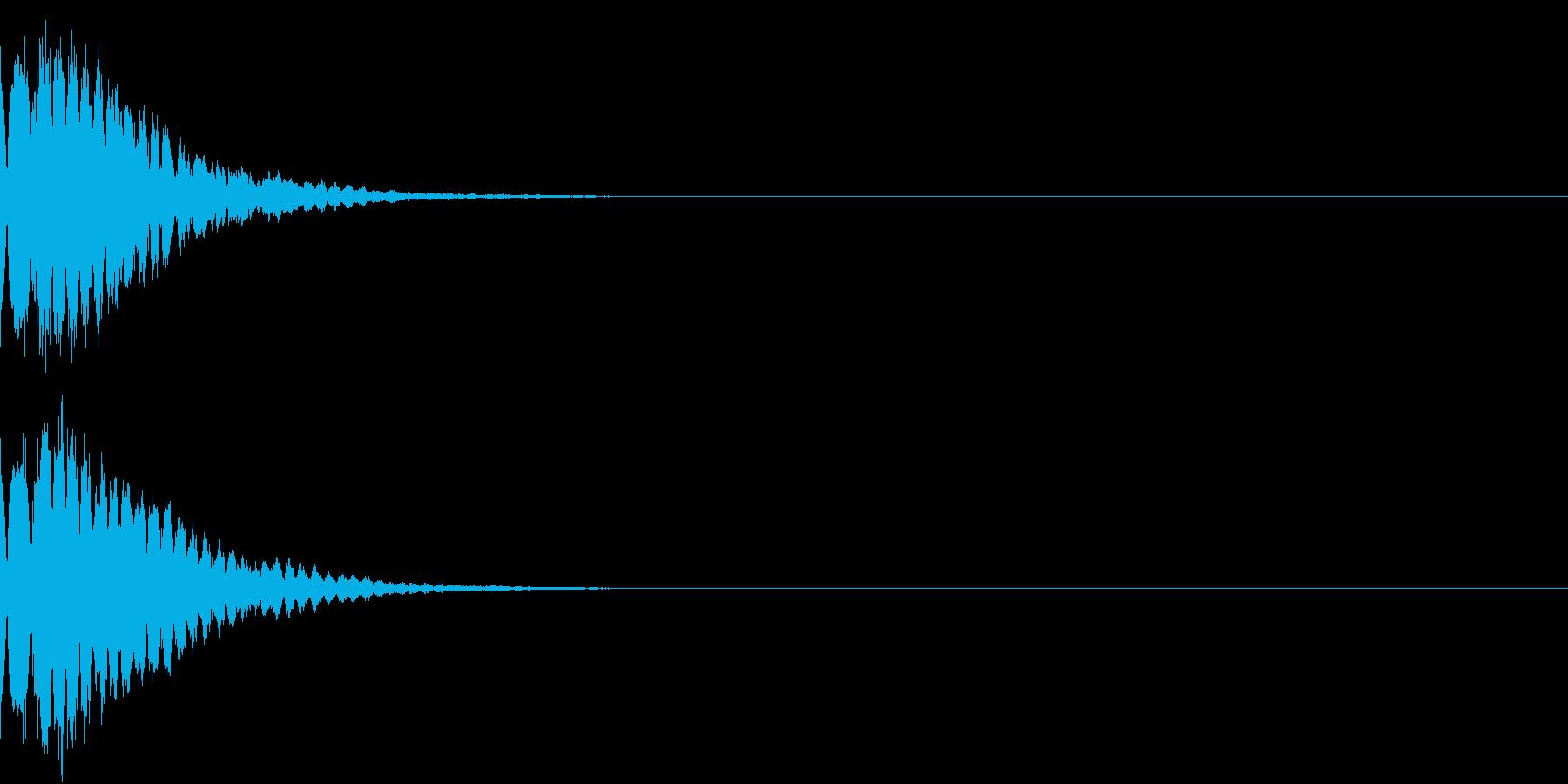 光る キュイーン ピカーン キラン 15の再生済みの波形
