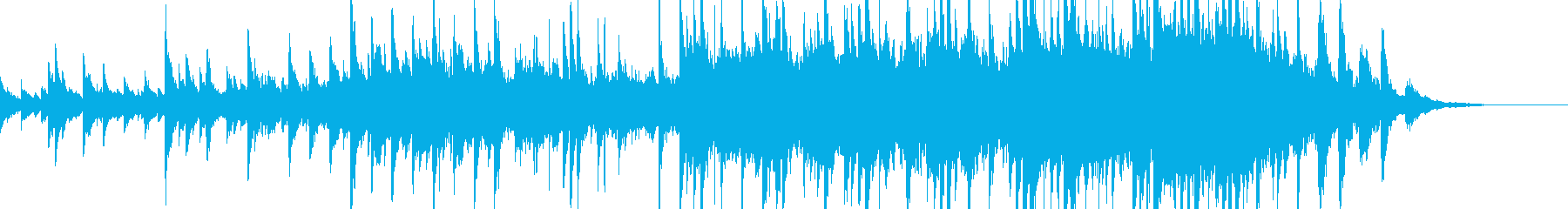 ピアノ、オーボエ、打楽器、弦、アコ...の再生済みの波形