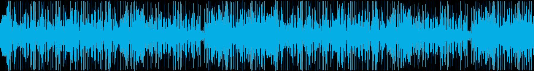 【YouTube】ファンキーな日常曲の再生済みの波形