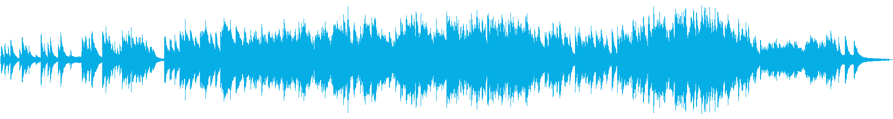 癒し 感動 切ないピアノソロの再生済みの波形
