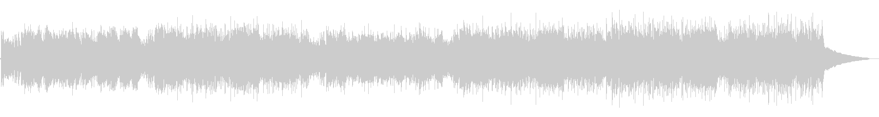 アニメ・情熱的でかっこいいフラメンコの未再生の波形