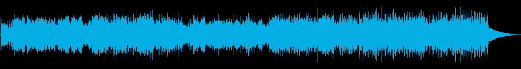 アニメ・情熱的でかっこいいフラメンコの再生済みの波形