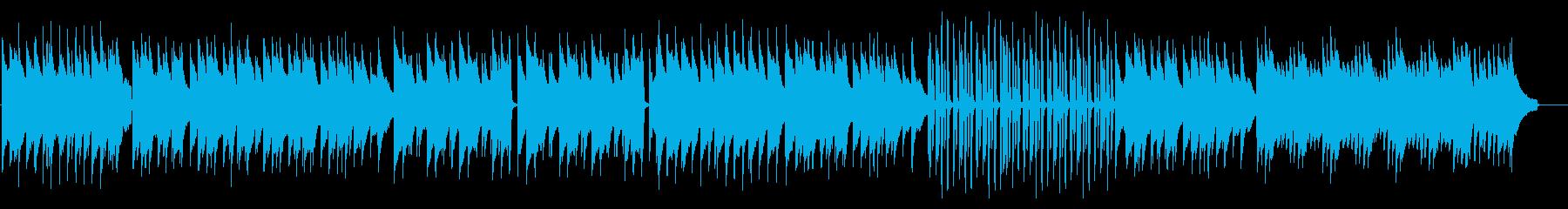ラジオ体操風の、シンプルで明るいピアノの再生済みの波形