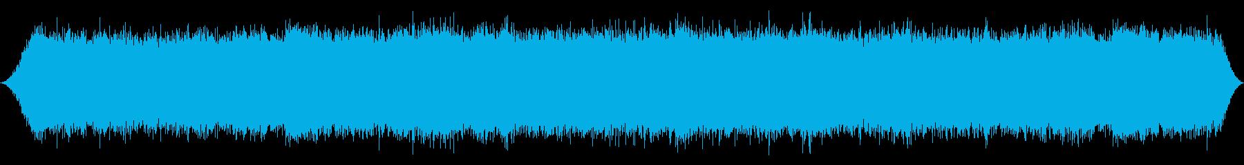 大きな滝:背後から明るいホイップス...の再生済みの波形