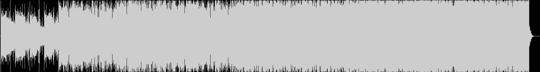 MMORPGのフィールド音楽溶岩ステージの未再生の波形