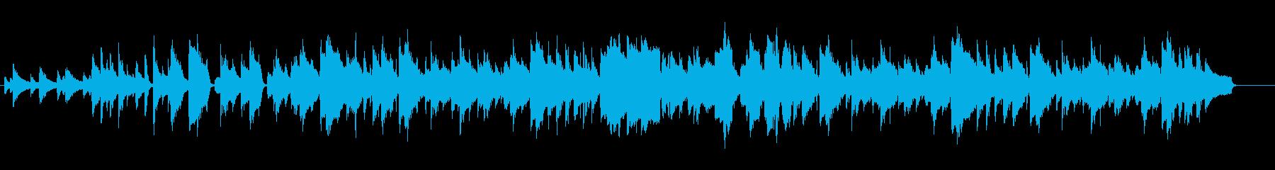 ほのぼのした雰囲気のジャズ風ポップの再生済みの波形