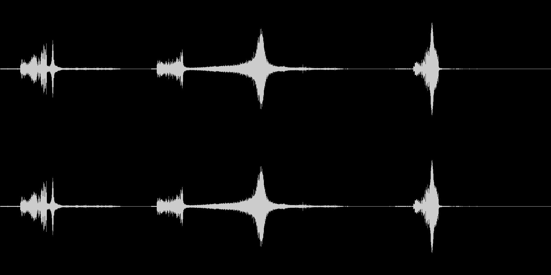 花火-ロケット5の未再生の波形