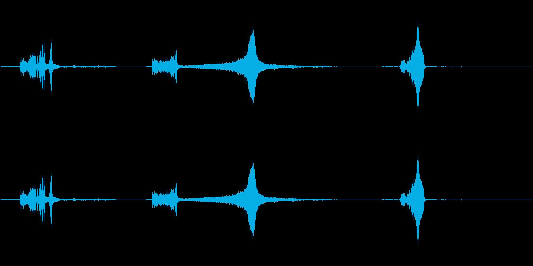 花火-ロケット5の再生済みの波形