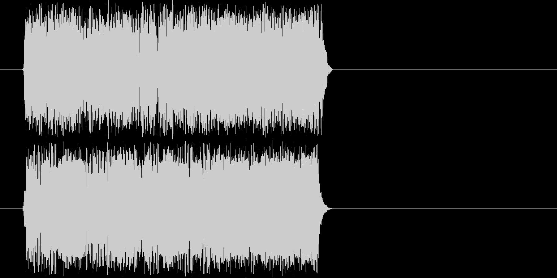 ギターフレーズ005の未再生の波形