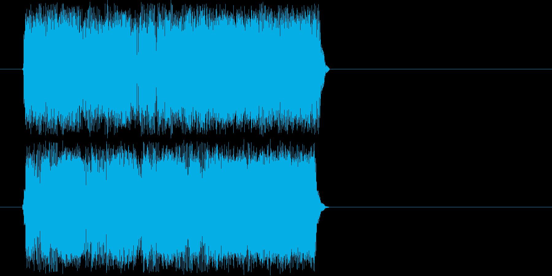 ギターフレーズ005の再生済みの波形