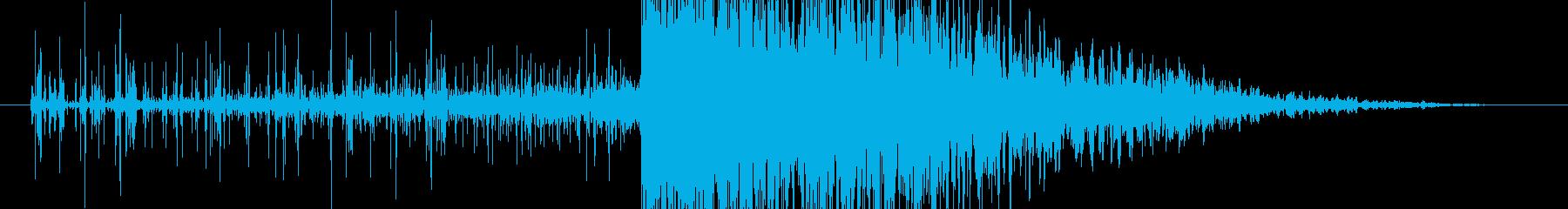 導火線 爆発の再生済みの波形