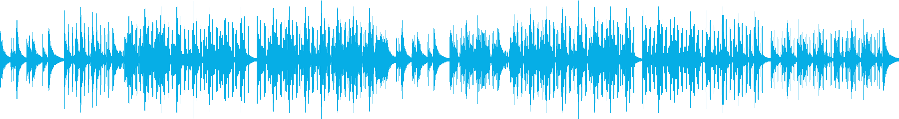 お洒落・センチメンタル・寂しさ・ピアノの再生済みの波形