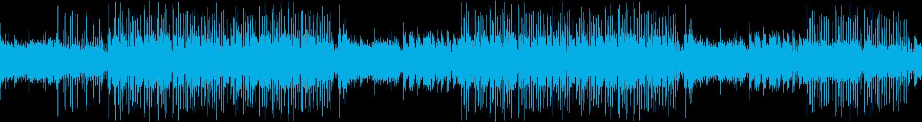 ピアノ・センチ・お洒落・綺麗・夜・ループの再生済みの波形