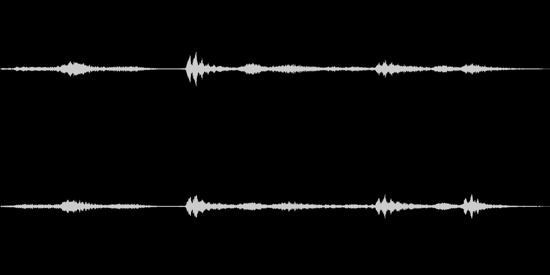 (へろへろした声)の未再生の波形