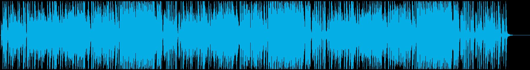 インパクトある面白いメロディピアノトリオの再生済みの波形