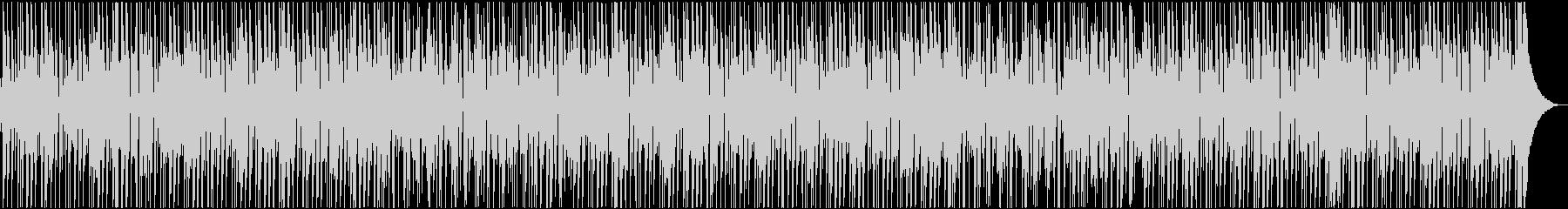 キレが良く、ファンキーなボサノバ風BGMの未再生の波形