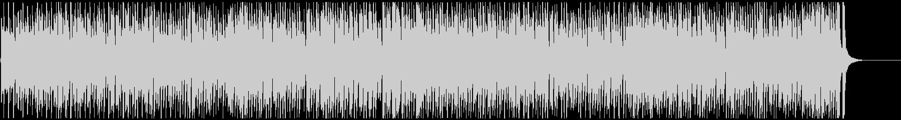 カートゥーンっぽいどたばたコミカルBGMの未再生の波形