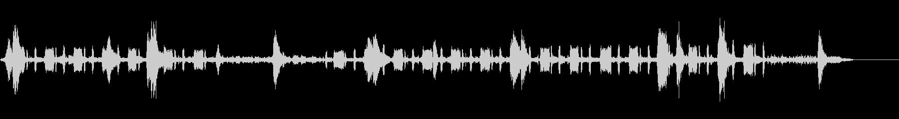 ヌー-バードソングの未再生の波形