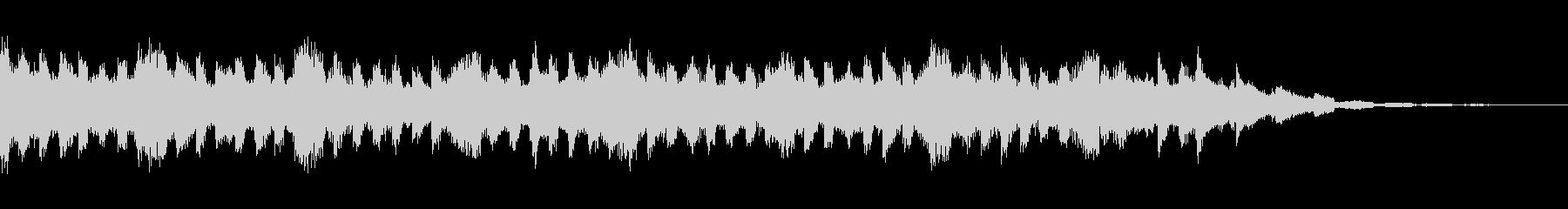 キラキラきれいなピアノコーポレートcの未再生の波形