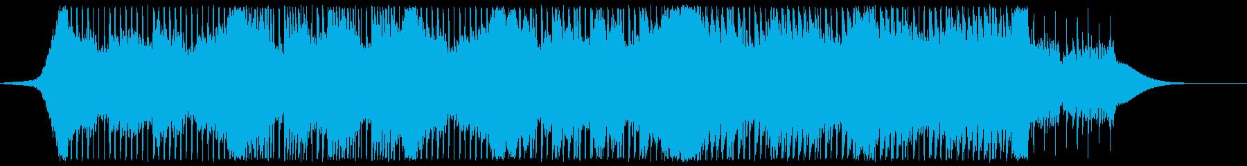 【爽やか】頑張る姿の軽快な応援BGMの再生済みの波形