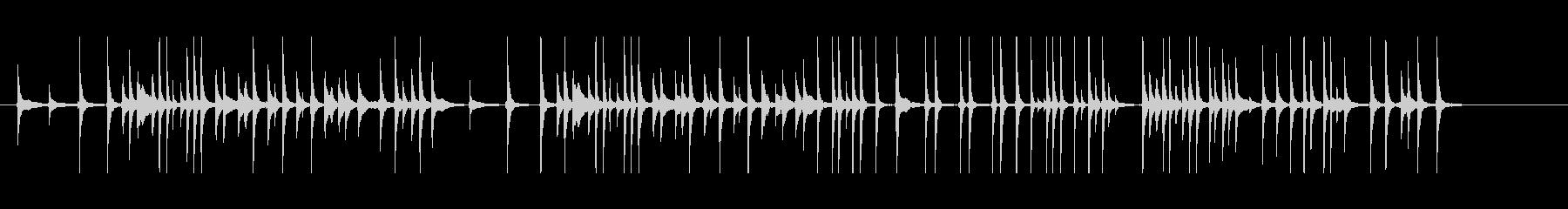 三味線233外記猿7小猿おさるさんサル投の未再生の波形